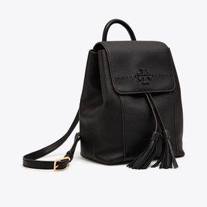 Tory Burch Black McGraw Backpack